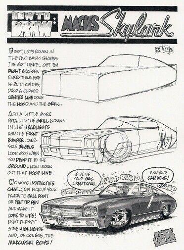 George Trosley - | Ilustración II | Pinterest | Auto Zeichnungen ...