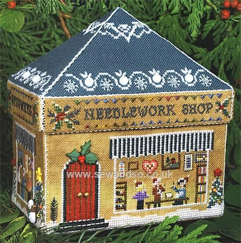 154 - Gingerbread Needlework Shop Chart Booklet