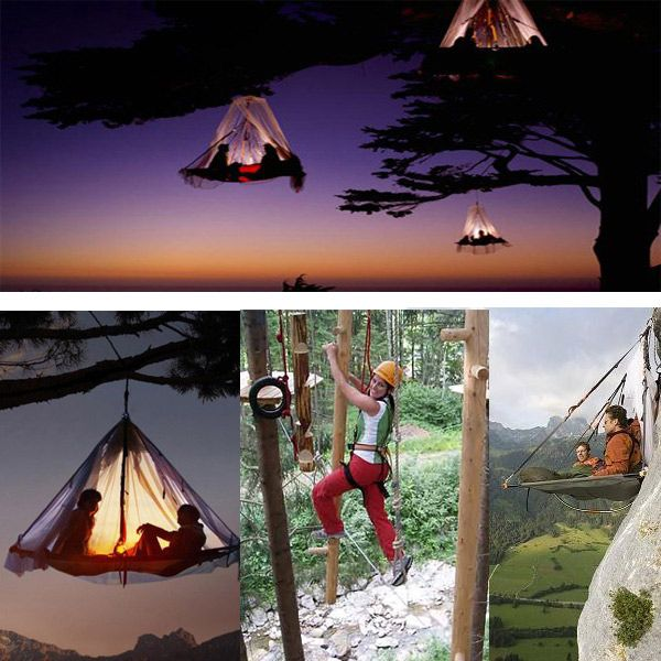 cf7ae40831 Waldseilgarten in Germany Offers Extreme Camping Experiences - located in  Pfronten