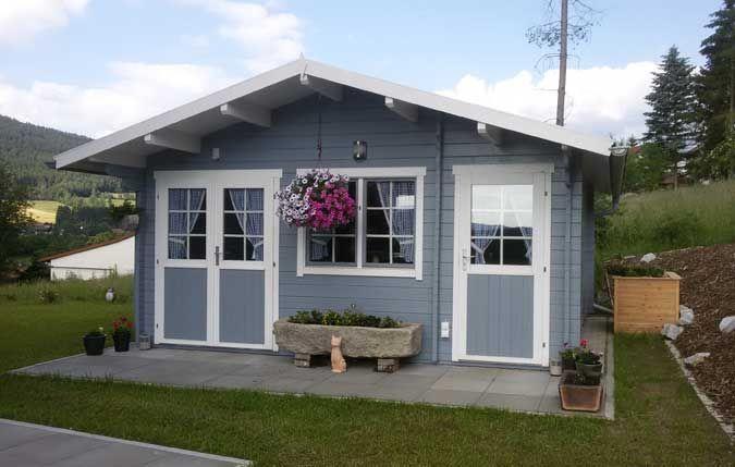 Gartenhaus Nevis 44 ISO Aufbau und Einrichtung