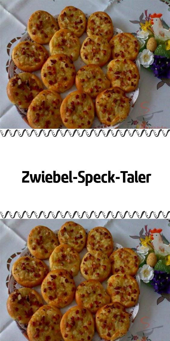 Zwiebel-Speck-Taler #fingerfoodappetizers
