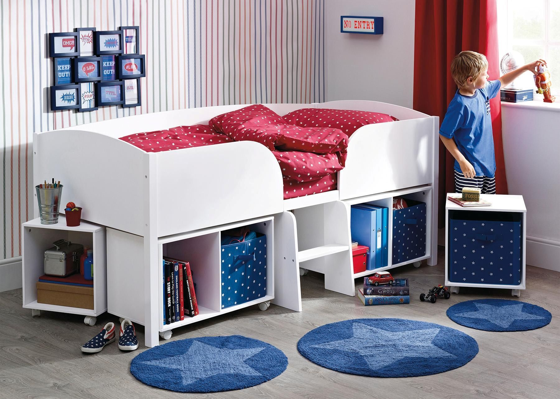 buy white cabin bed from the next uk online shop | bedroom