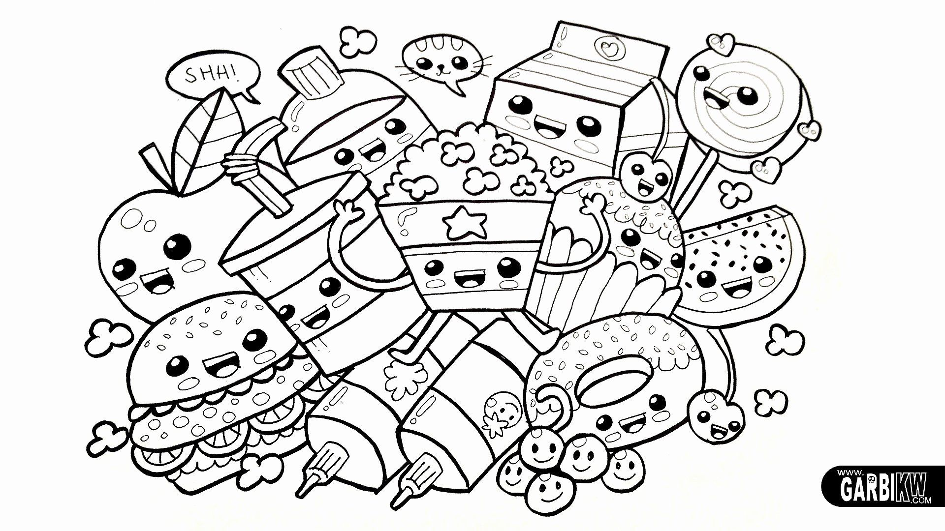 Super Cute Coloring Pages Best Of Coloring Hard Colouring Pages For Kids Free Printable Gcss In 2020 Unicorn Coloring Pages Animal Coloring Books Food Coloring Pages
