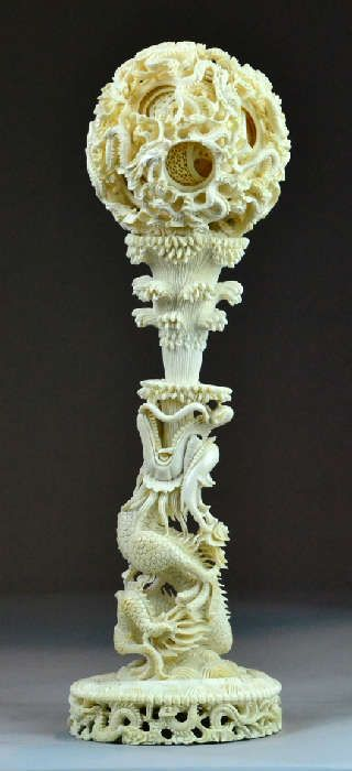 July 15th Asian Works Of Art Auction Bone Carving Art Auction Stone Carving