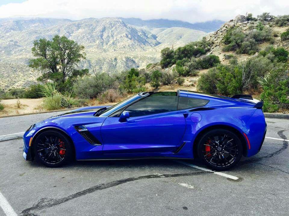 Blue C7 Z06 Super Cars Corvette Dream Cars