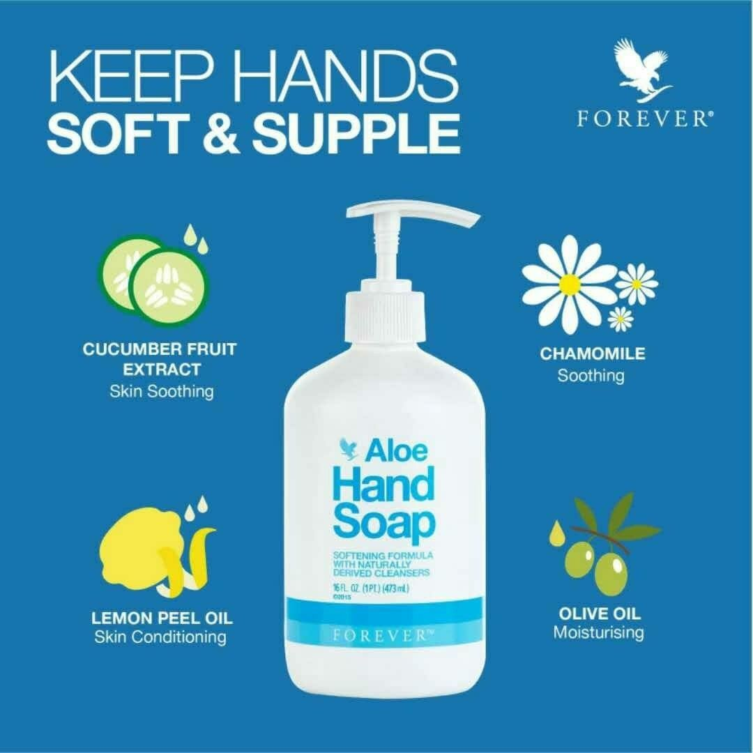 Aloe Hand Soap Forever Living Products With Images Forever