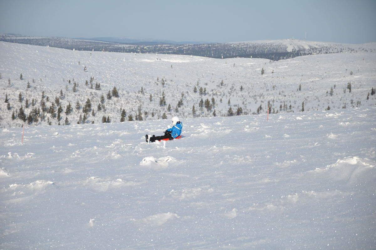 Tobbocaning in Kiilopää, Saariselkä. Finnish Lapland in winter 2012.  Cabins and activities in Saariselkä http://www.saariselka.com