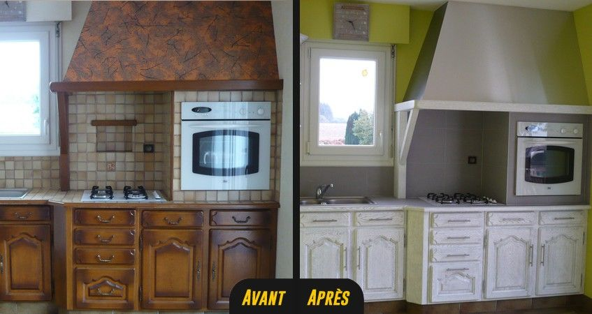 relooking cuisine bois massif chene vannes rennes lorient 0 r novation cuisine avant apr s. Black Bedroom Furniture Sets. Home Design Ideas