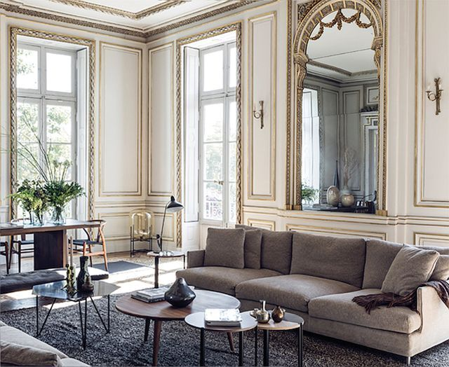 Just Love Looking Over All The Beautiful Details Of These Classic French  Apartments. The Parquetry Floors, Panelling, Ornate Mouldings, Huge French  Doors ...