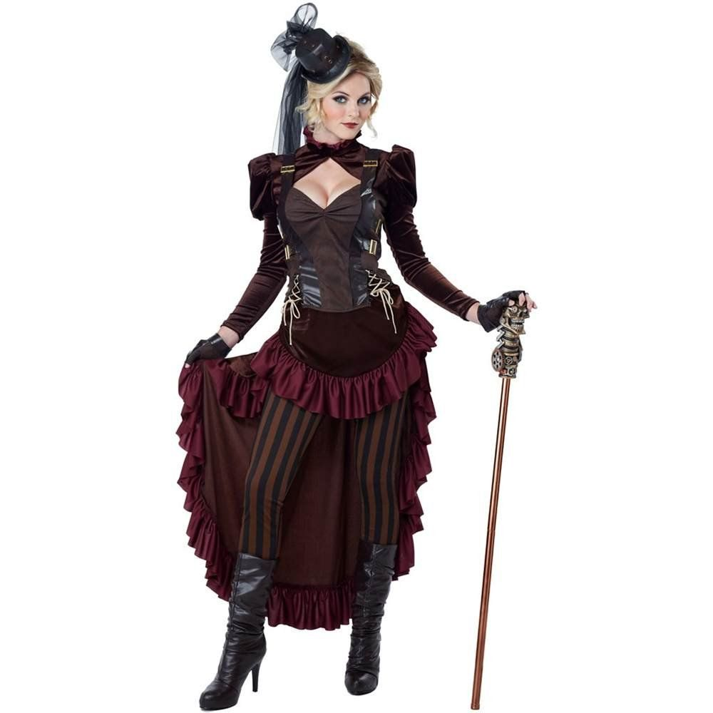 Victorian Steampunk Woman Adult Costume