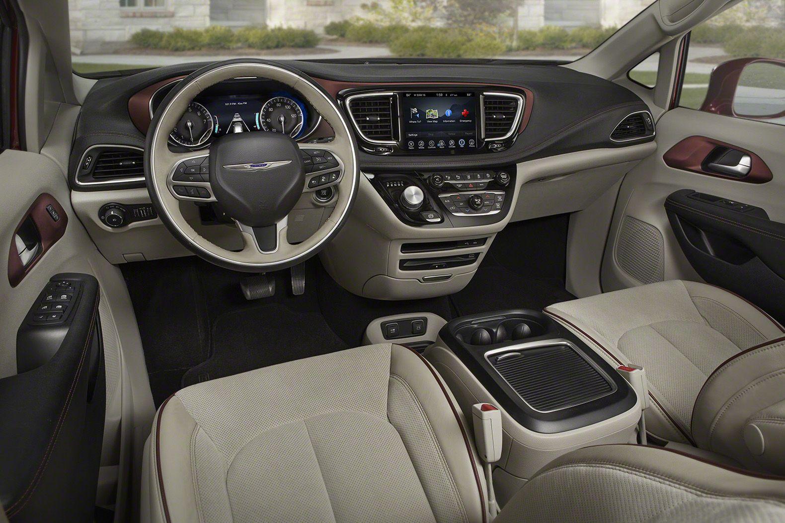 Chrysler Unveils World S First Plug In Hybrid Minivan Chrysler