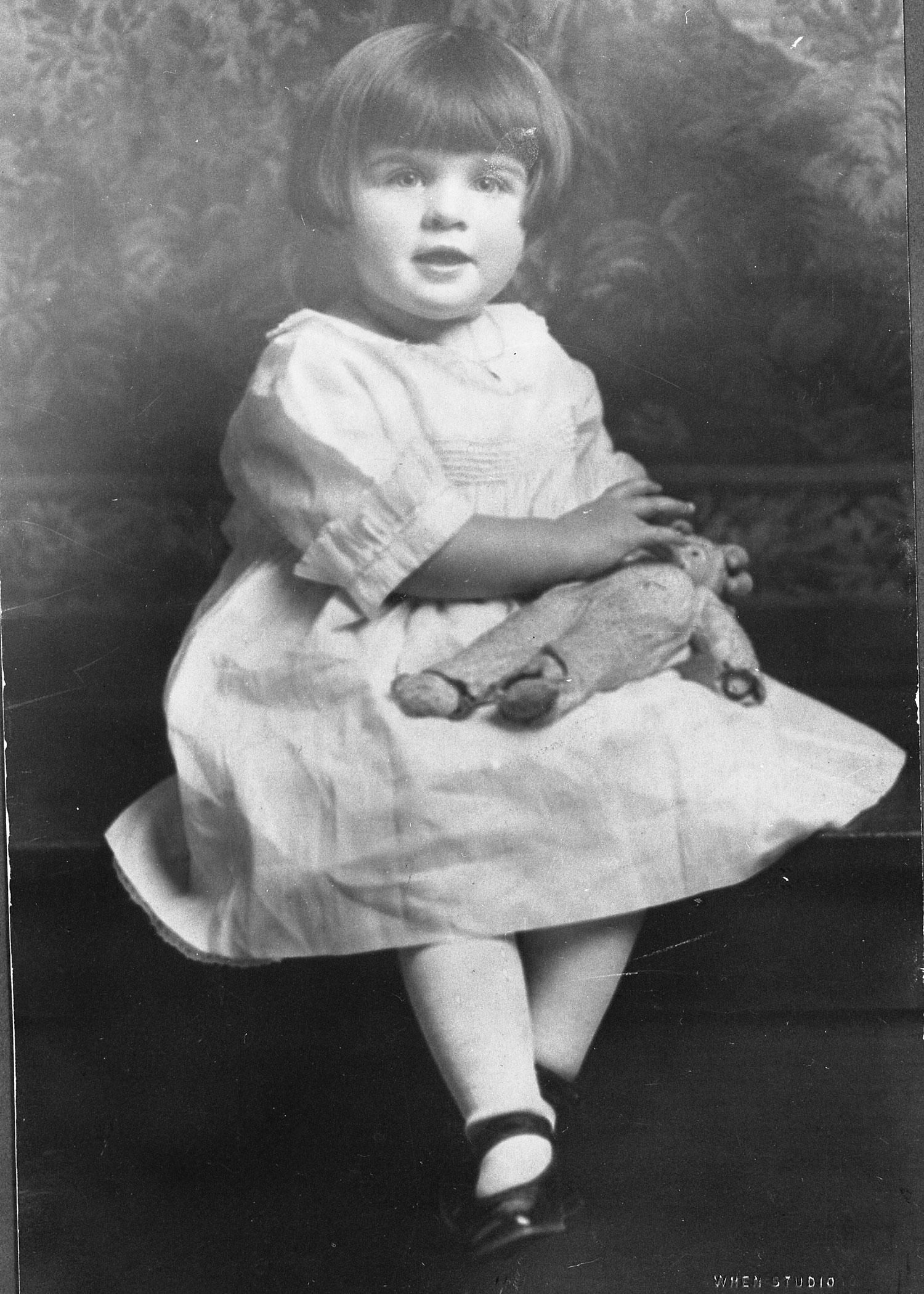 Betty White As A Child