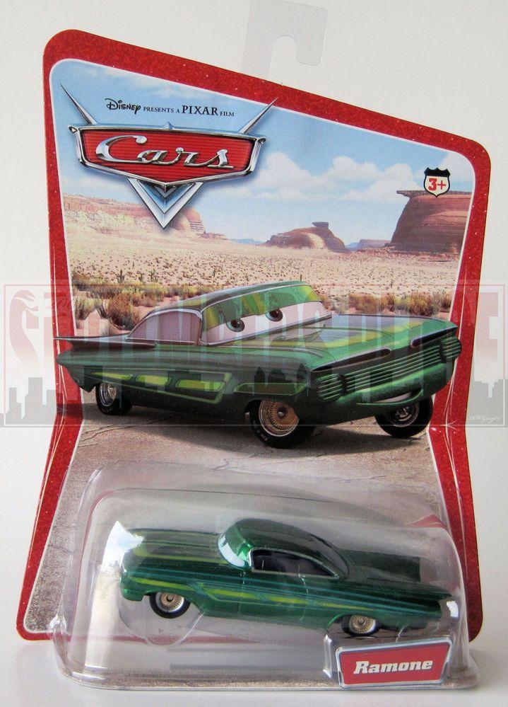 Disney Pixar Cars Desert Series 1.5 Ramone Green 16C/1L
