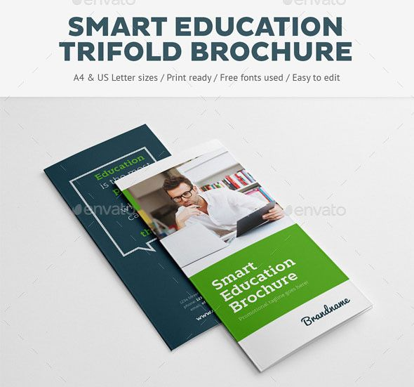 Smart Education Trifold Brochure Smart Education Trifold Brochure - sample college brochure
