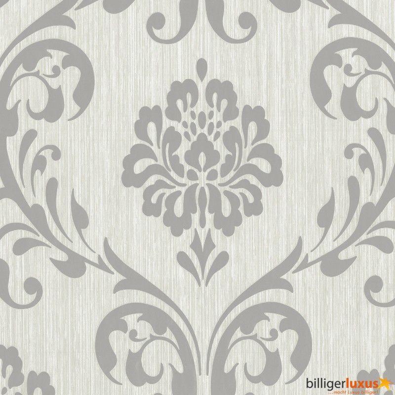 Tapete ORNAMENT Vliesapete P+S 1311050 Barock Grau Silber. Hochwertige  Tapeten Günstig Und Schnell Online Bestellen