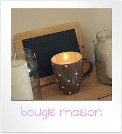 Dans la s rie id es d co cadeaux bougies fait maison fabriquer bougie et fait maison - Bougie fait maison ...