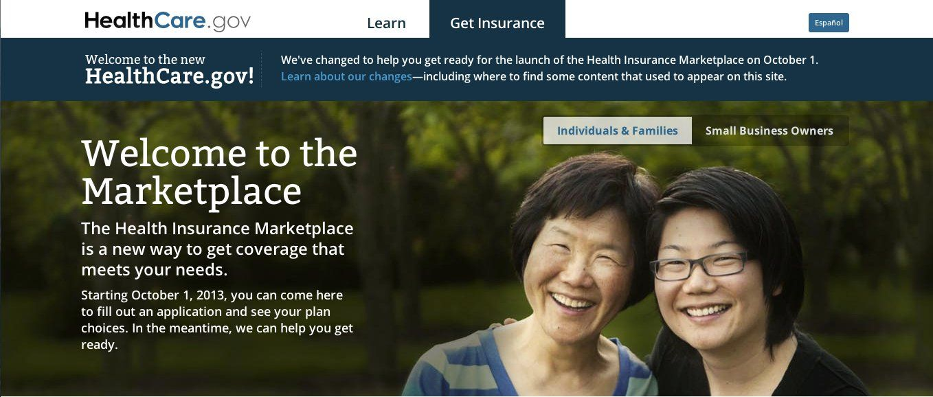 Obamacare Marches Forward With New Website Health