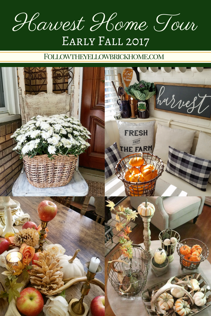 visit my home all decorated for early fall gain inspiration for fall decorating with vintage finds in your cottage or farmhouse style home