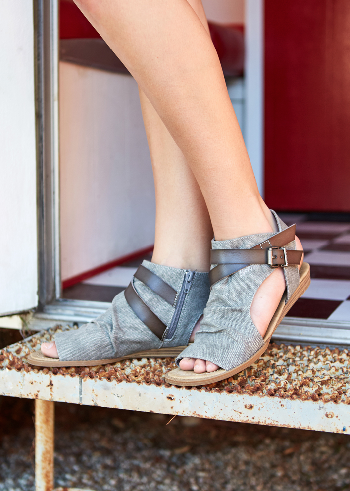 e1ca17a92f36 Balla sandals in steel grey by Blowfish Shoes