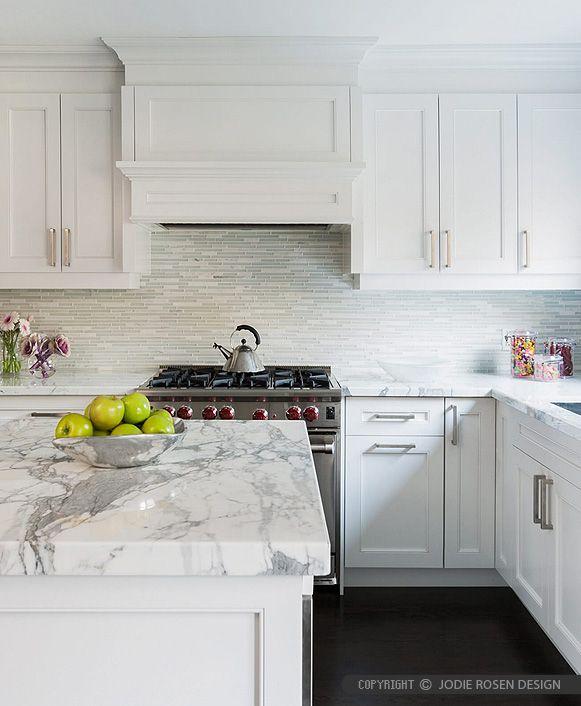 Creamy Dreamy Traditional Kitchen Kitchen Remodel White