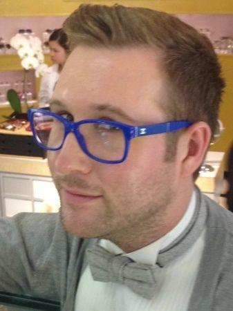 4294955e80 Chanel Blue Glasses #Tip #TipOrSkip #TopTips #men #mens #style ...