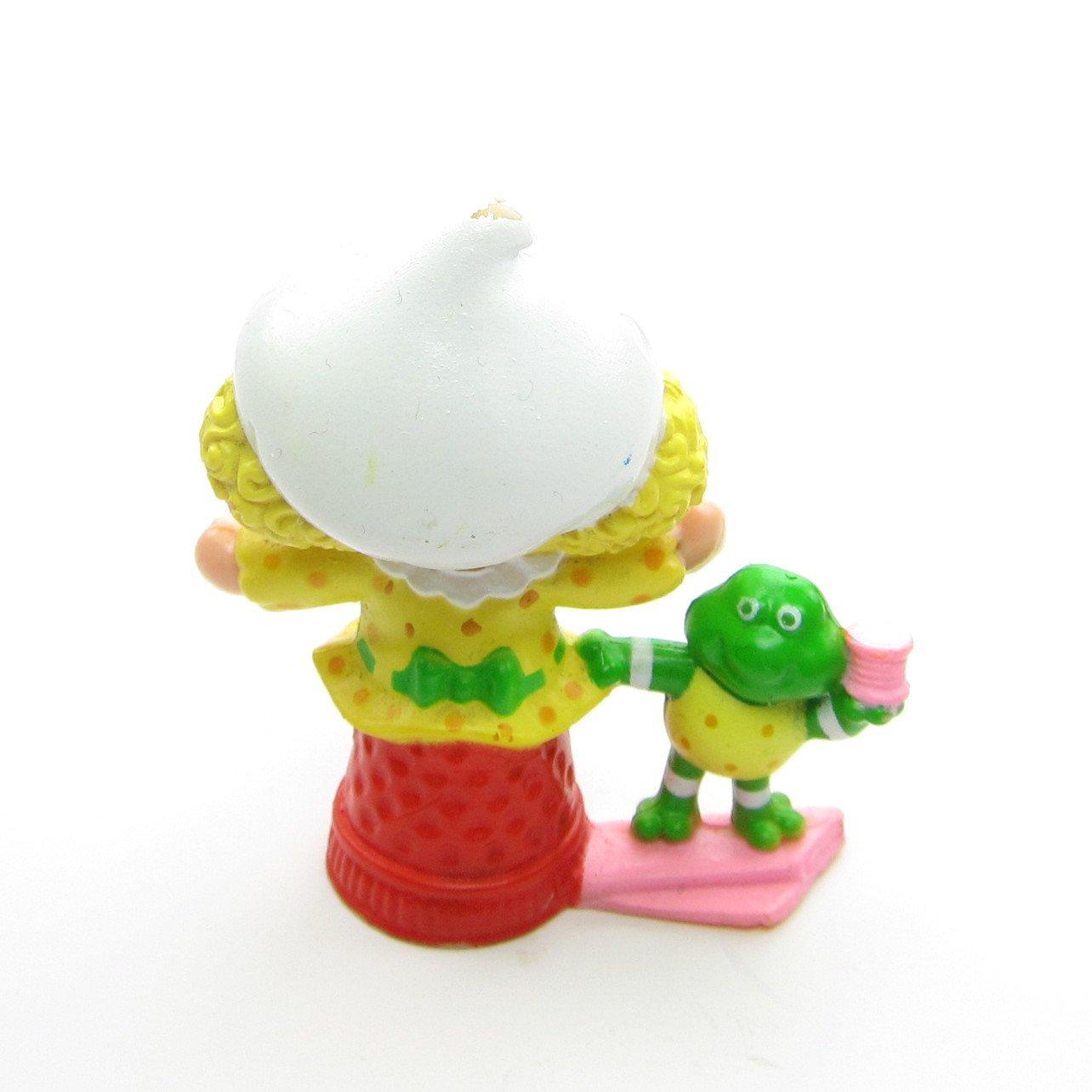 Vintage 1980s Strawberry Shortcake mini figurine - Lemon