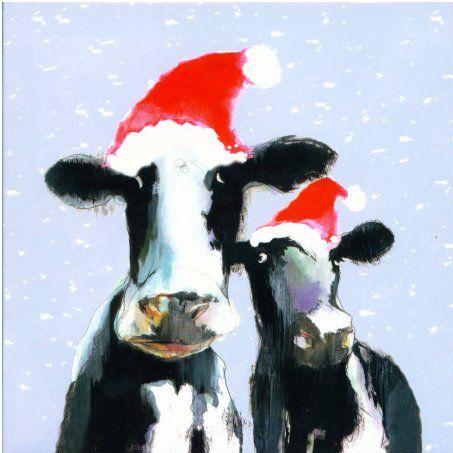 Christmas Cow.Christmas Cows Christmas Animals Merry Christmas