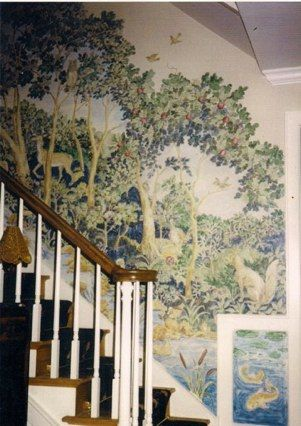 Wall decor · handpainted murals carol nagel