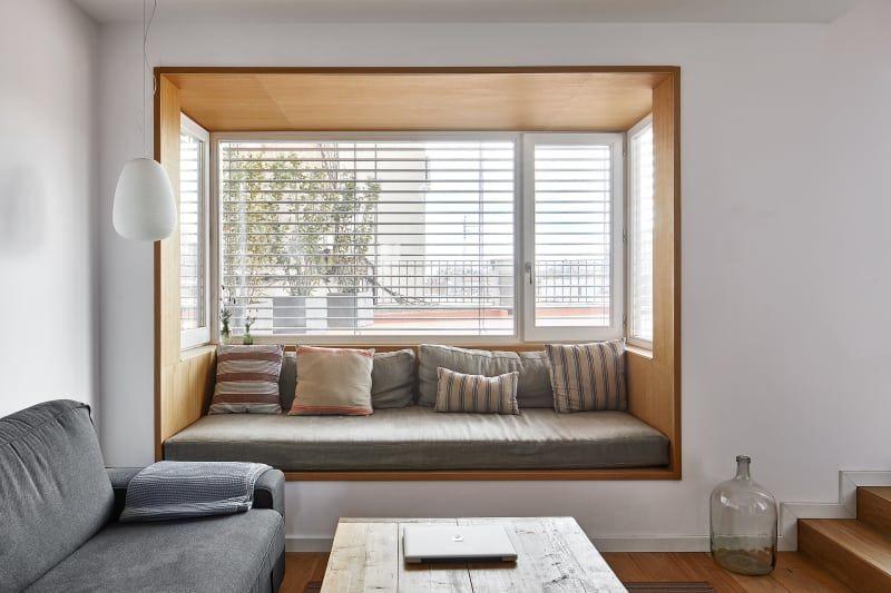 Two Bo Arquitectura Jose Hevia Penthouse In Barcelona Arquitectura Decoracion De Unas Ventanas