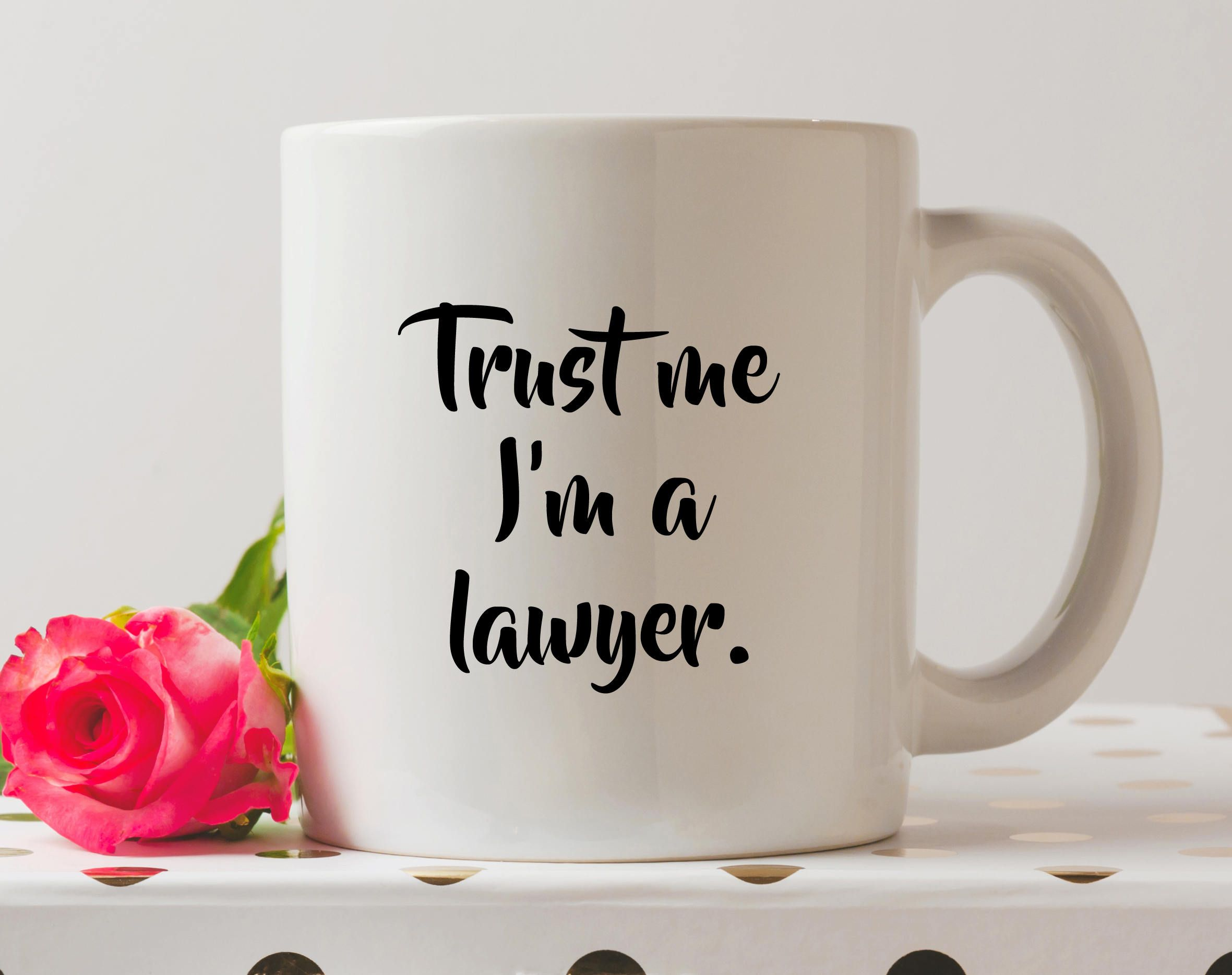 Christmas Gifts Trust Me, Im A Lawyer Mug - Cute