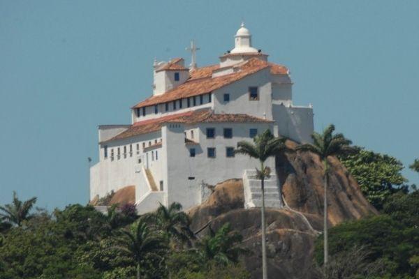 Vila Velha, ES - Brasil  Convento e igreja da Penha