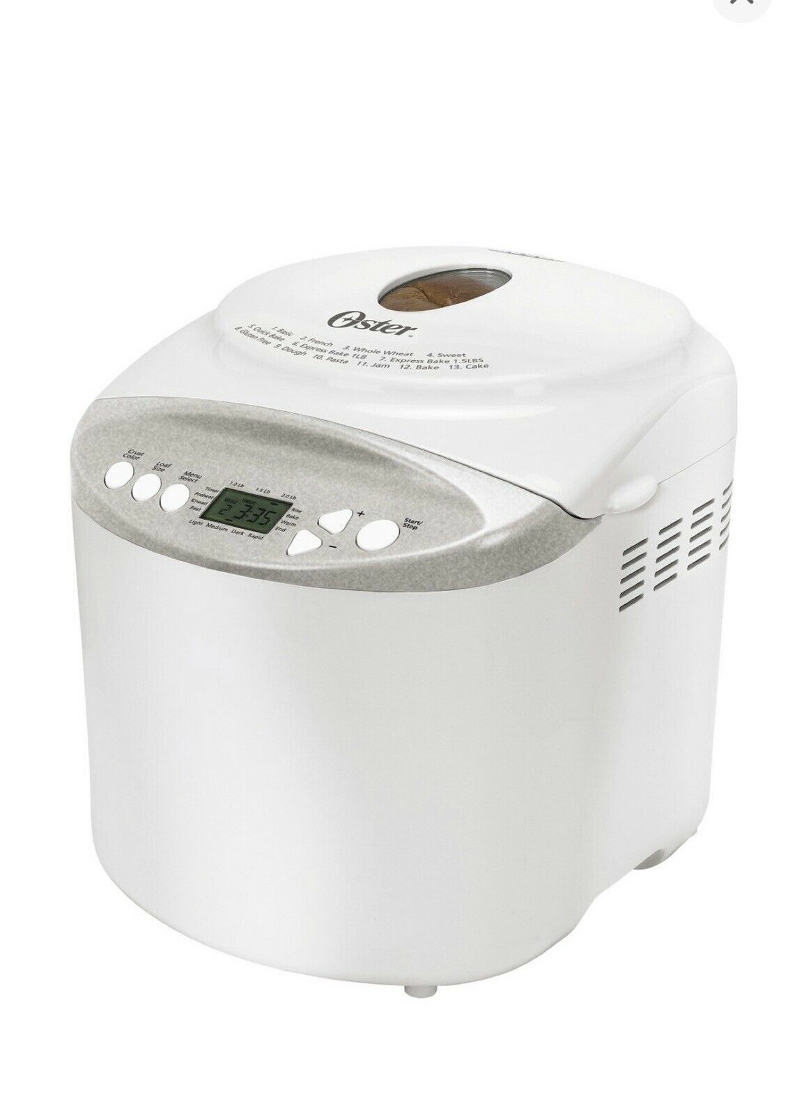 Oster Expressbake Bread Maker 2lb Loaf With Gluten Free Shipping Brand New Bread Machine Breadmachine In 2020 Bread Machine Bread Maker Machine