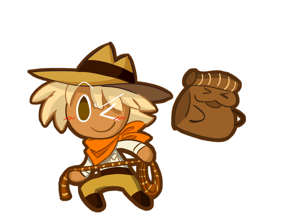 Adventurer Cookie By Raccoon P On Deviantart Cookie Run Raccoon Adventure