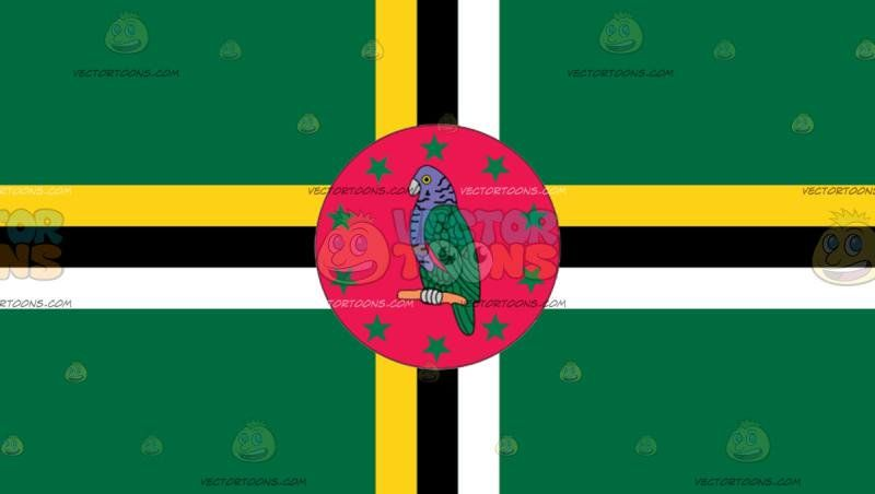 Flag Of Dominica Flags Of The World Dominica Dominica Flag