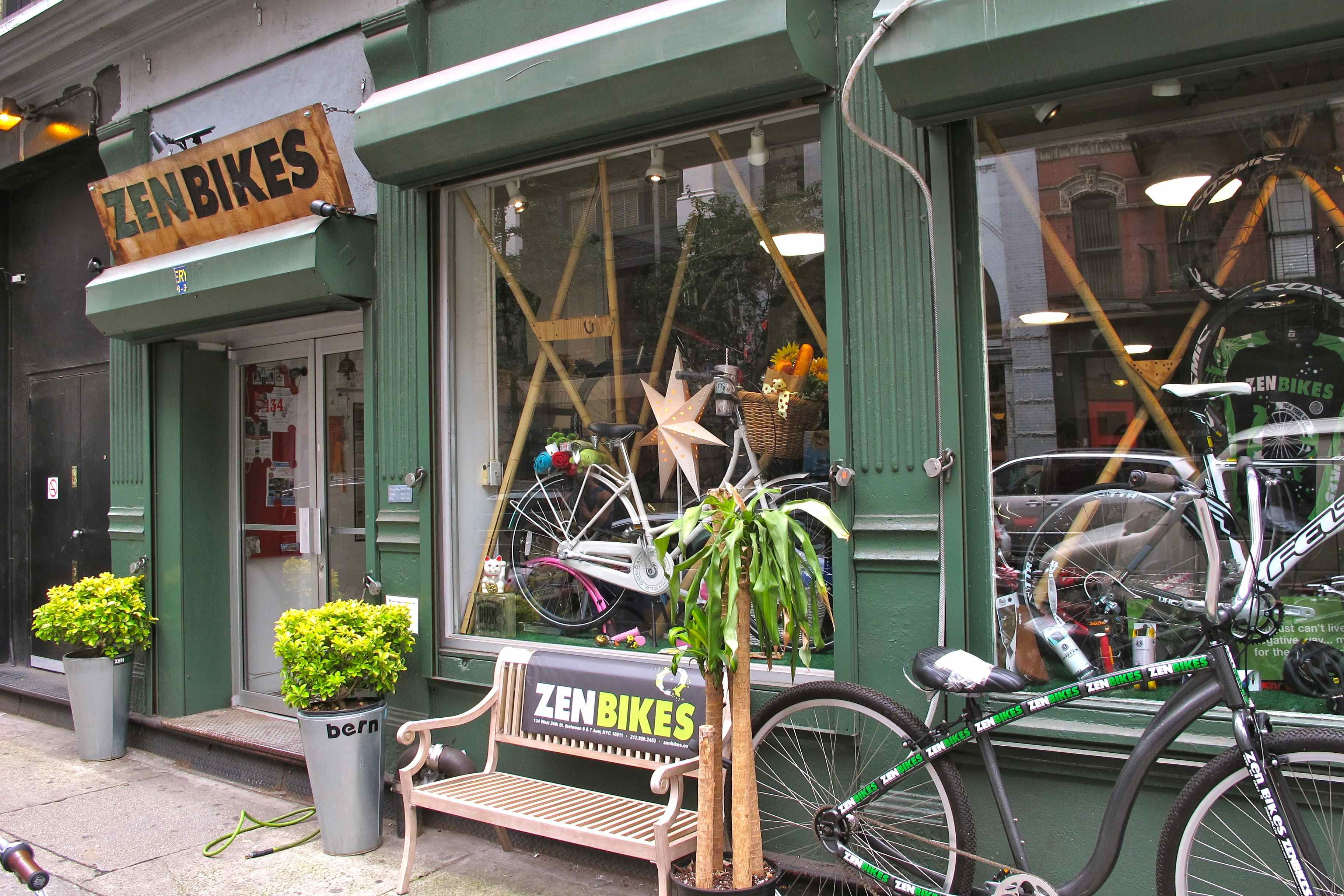 Zen Bikes 24th Street Nyc The Best Bike Shop In Town Travel