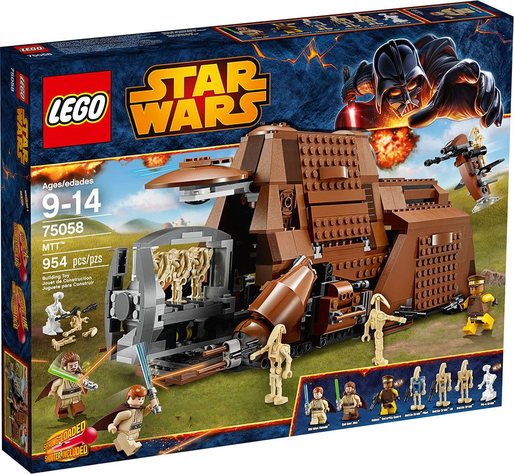 Lego Star Wars Multi Troop Transport Mtt 75058 Battle Droid New
