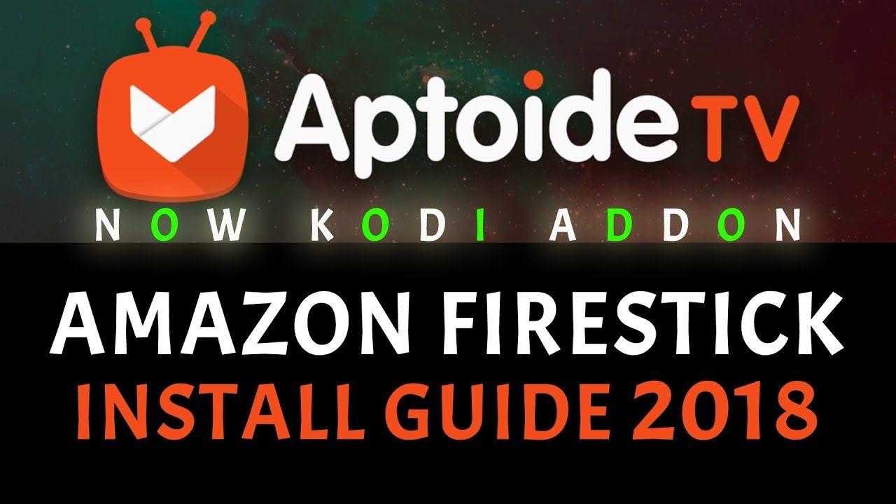 APTOIDE TV APK STORE - KODI MUST HAVE! AMAZON FIRE STICK