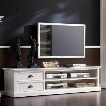 Newport TV Unit - beach-style - Entertainment Centres and TV Stands ...