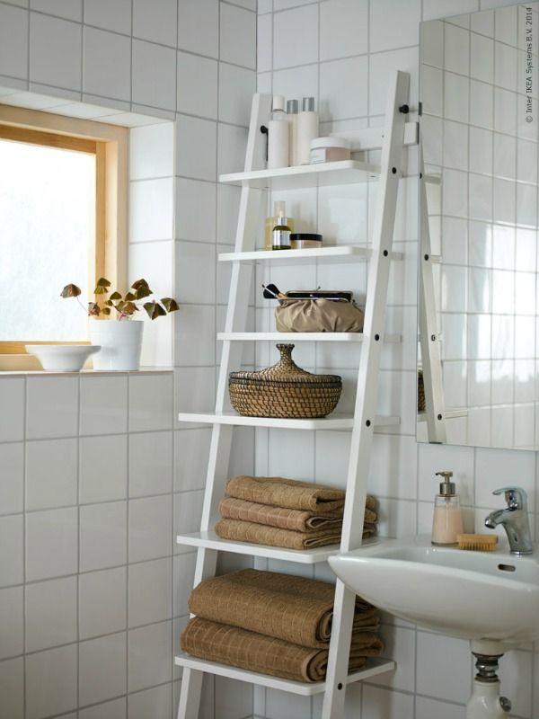 Inspiratie voor een opgeruimde badkamer. Van manden en ladders tot ...