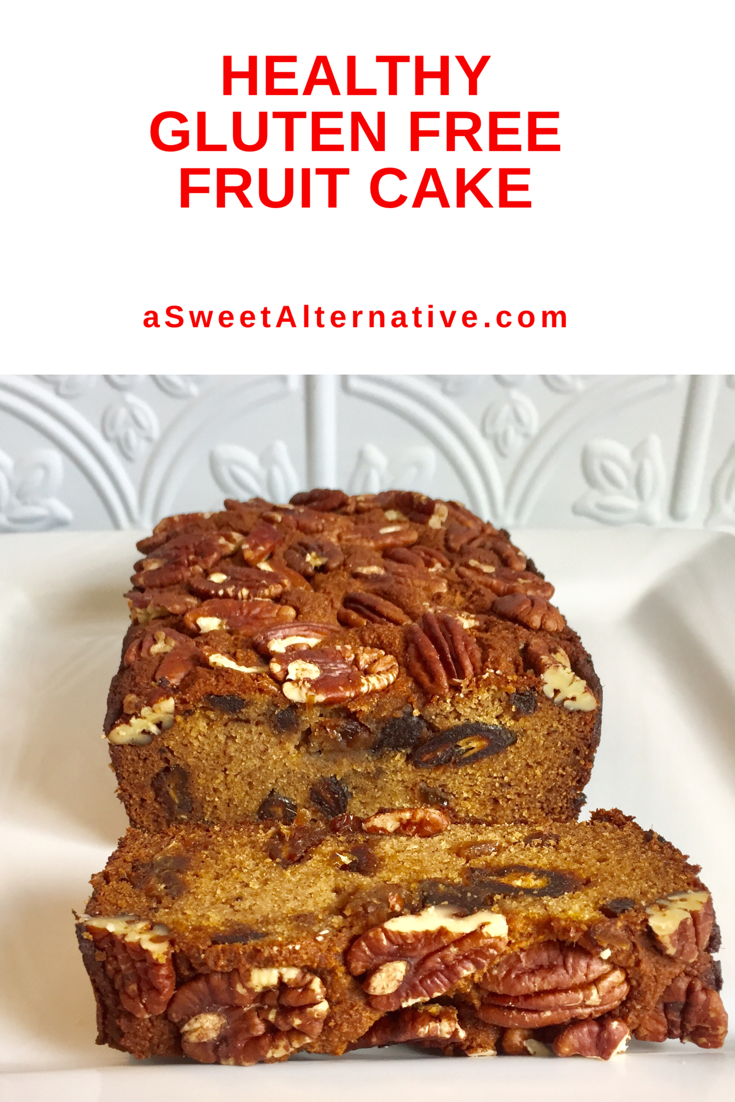 Fruit Cake Recipe - Healthy, Gluten Free, And Paleo Fruit cake recipe perfect for Christmas dessert that is healthy, refined sugar free, gluten free, dairy free, and paleo diet friendly.