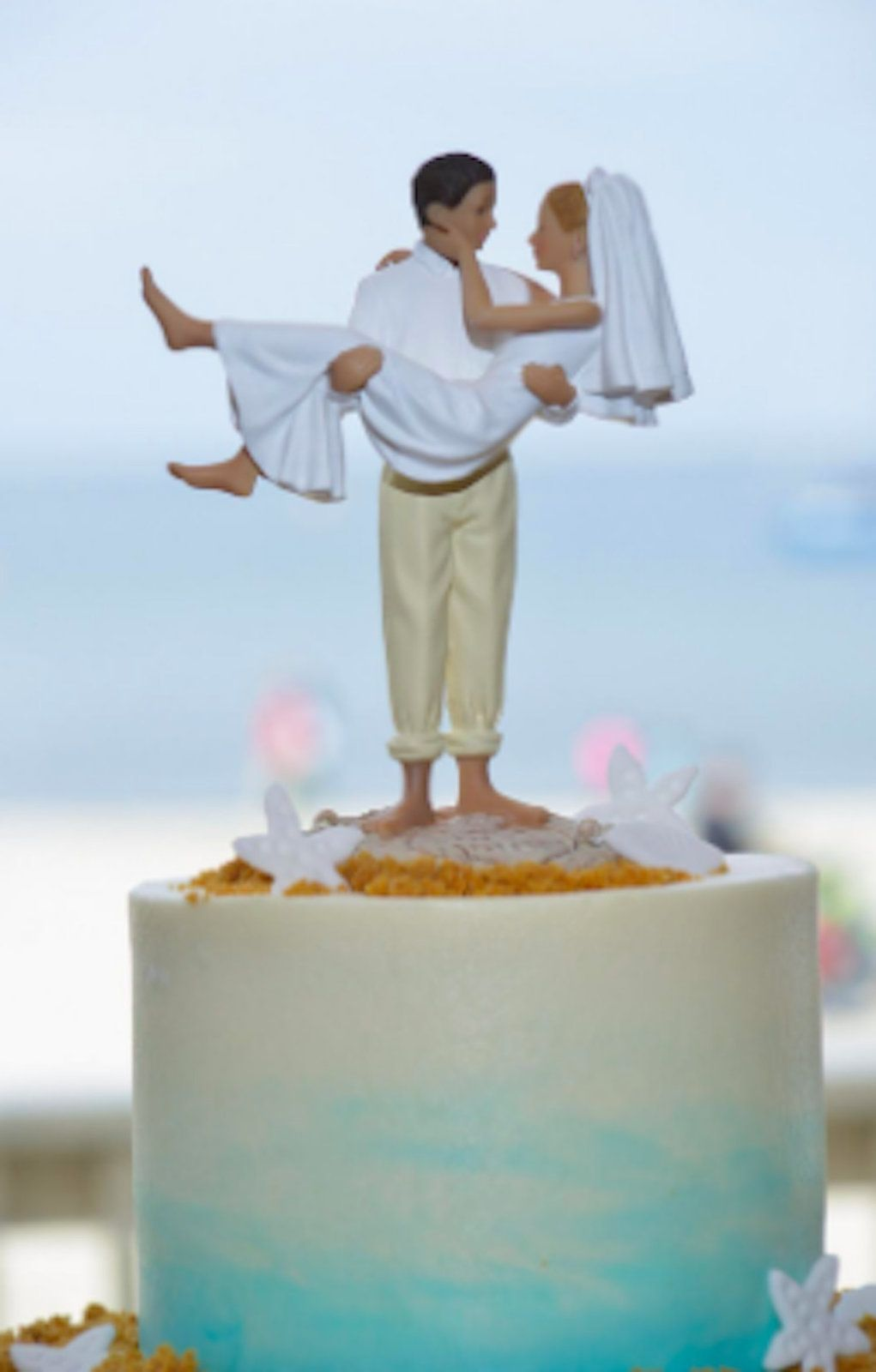 29++ Beach wedding cake toppers funny ideas