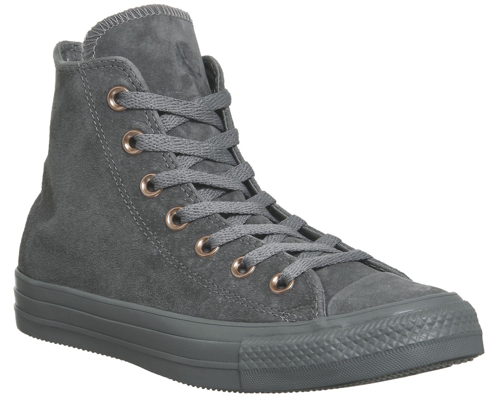 Converse All Star Hi Leather Mason Grey
