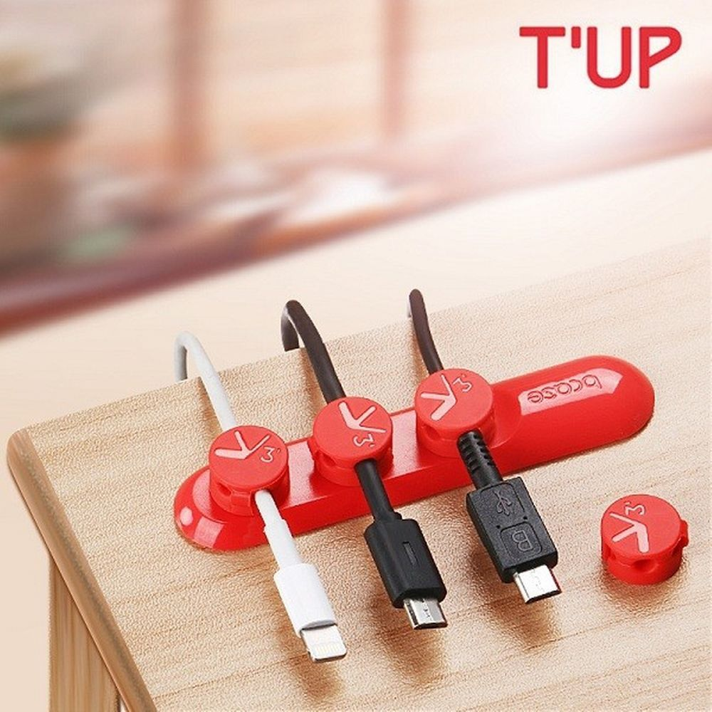 Magnetic Desktop USB Cable Clips Organizer Management 3 Sizes In 1 Wire #Bcase