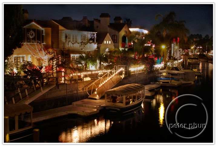 Christmas lights, Naples, Long Beach, CA. This place is so pretty ...