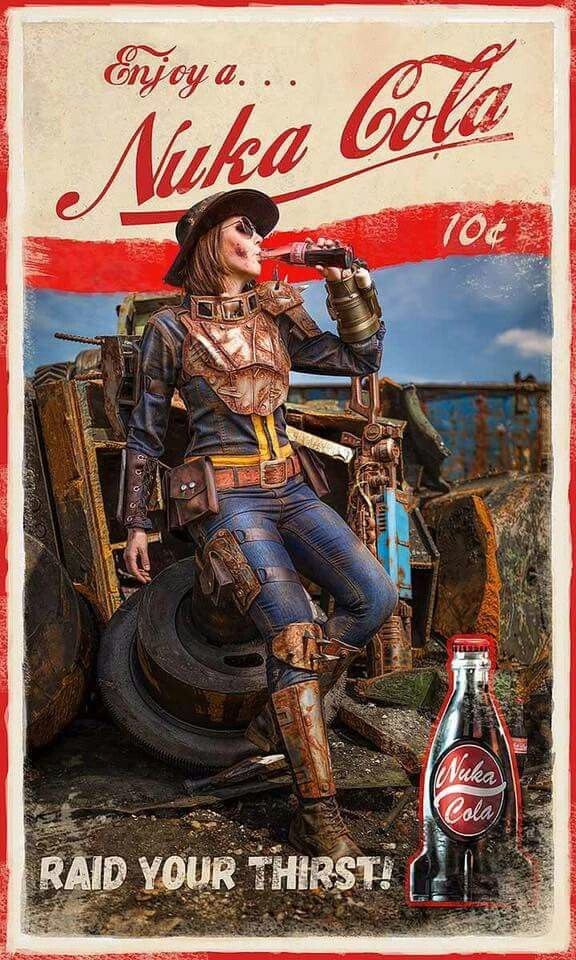 Nuka Cola Fallout Fan Art Video Game Art Fallout Posters