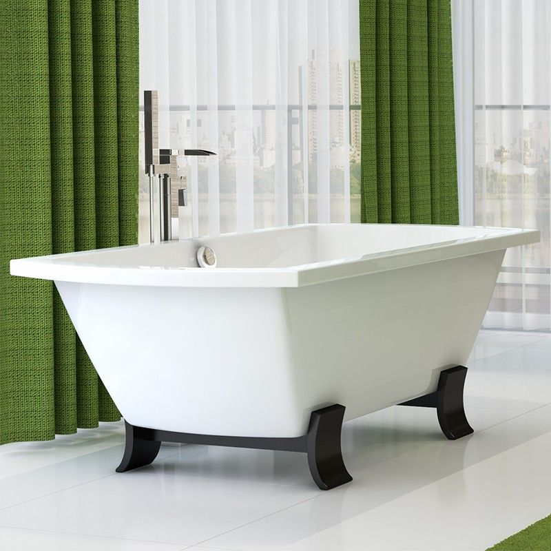 The Tabor™ 1800mm Freestanding Bath. A spacious bath made from the ...