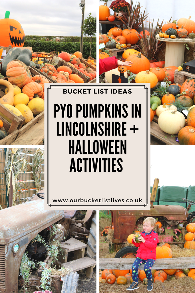 PYO Pumpkins in Lincolnshire Bell's Gardening Outlet