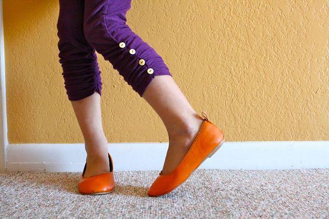 Ruched Leggings tutorial