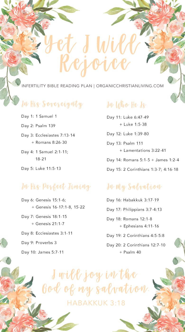 Infertility Bible Reading Plan For Women | Infertility Bible Verses | Infertility Quotes | Infertility Inspiration | Topical Bible Study | Bible Study Lessons | Bible Studies for Beginners
