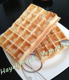 mayasız waffle tarifi